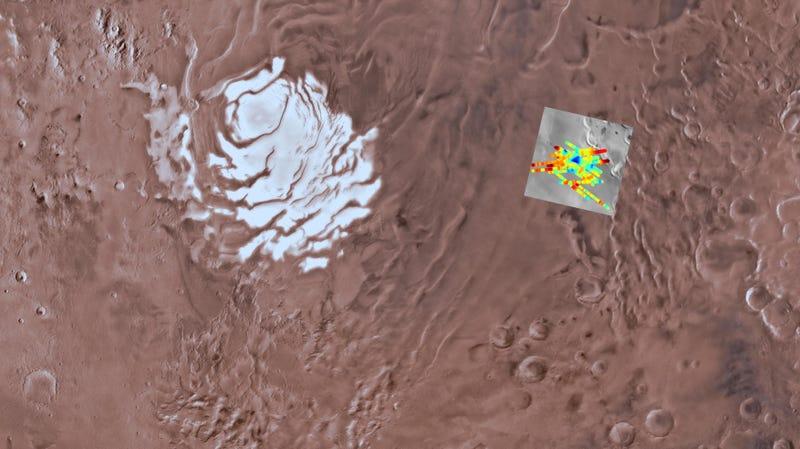 Αποτέλεσμα εικόνας για water on mars