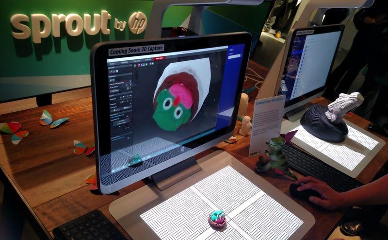 Illustration for article titled HP Sprout: el PC todo en uno sin teclado que escanea objetos en 3D