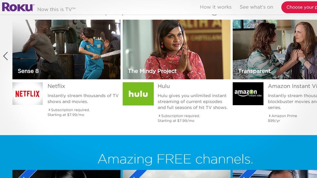 Streaming Stick Showdown: Chromecast vs  Roku vs  Fire TV