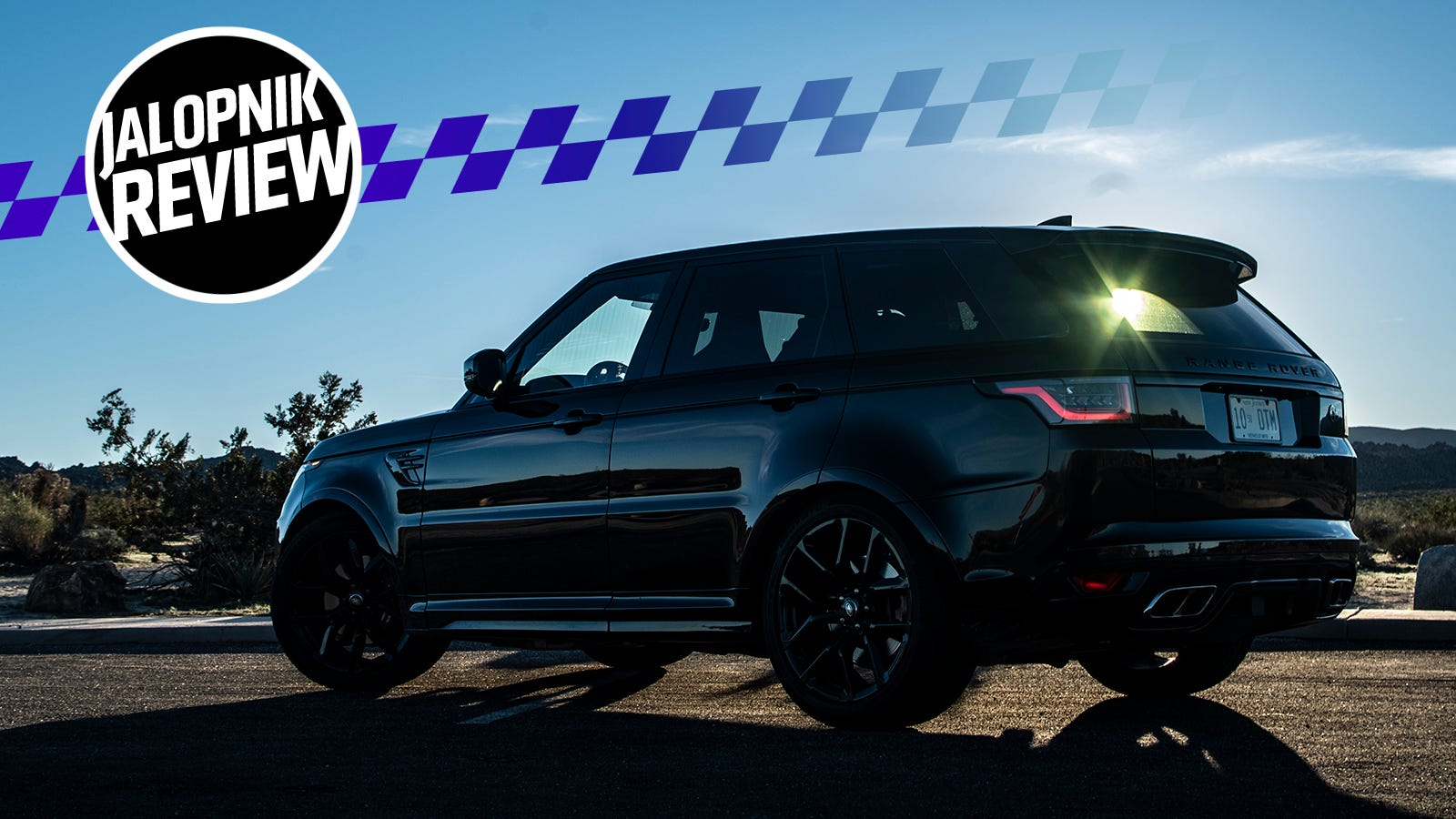 The 2018 Variety Rover Sport SVR: Because Fuck You, That's Why thumbnail
