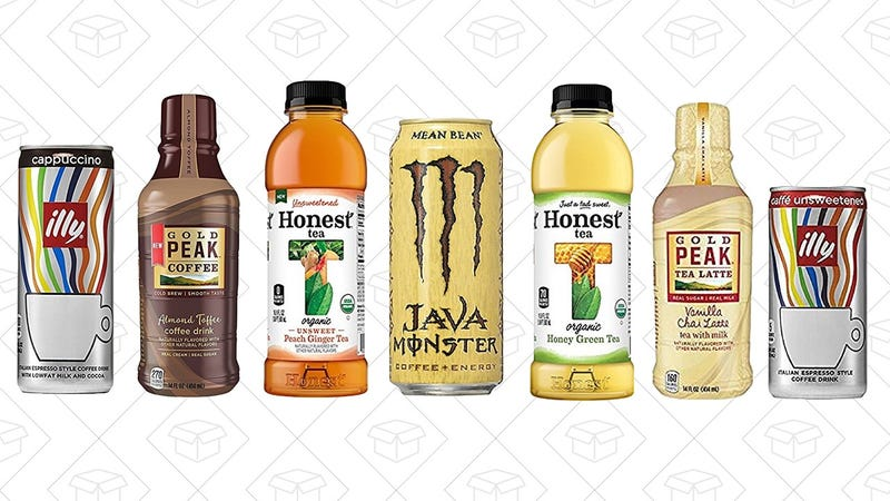 Coffee & Tea Sample Box | $10 | Amazon | Plus $10 Amazon credit on future coffee & tea purchase