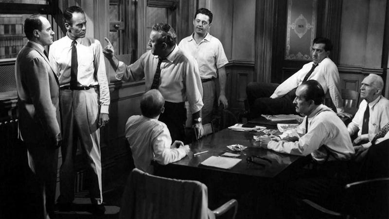 Three out of twelve angry men can't be wrong!