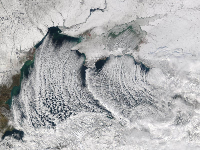 Illustration for article titled Satellite Image of Clouds Over the Black Sea Will Take Your Breath Away
