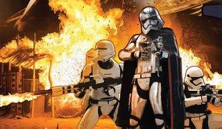 Illustration for article titled Primeras fotos en detalle de losvillanosde Star Wars Episodio VII