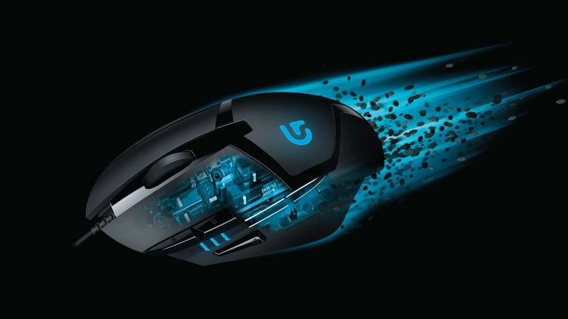 """Illustration for article titled The New """"World's Fastest"""" Gaming Mouse"""
