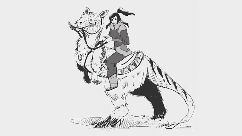 Illustration for article titled Korra, Your Tauntaun Will Freeze Before You Reach The First Marker!