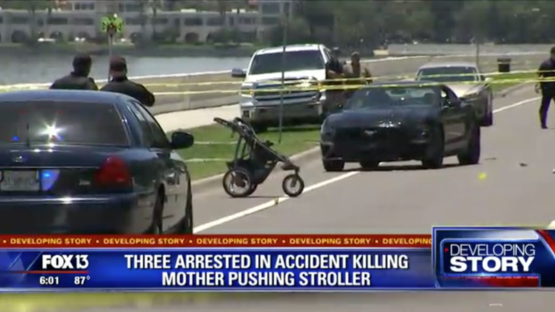 Illustration for article titled Mother Killed, Child In Critical Condition After Being Hit By Street Racing Teens