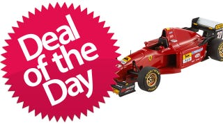 Illustration for article titled This Hot Wheels Elite Ferrari 412 T2 Is Your Vroom-Vroom Deal of the Day