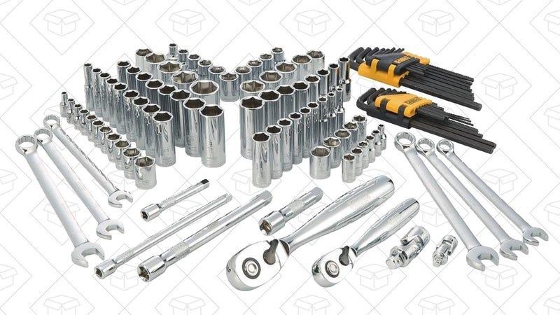 DEWALT Mechanics Tool Sets, $80-$155. Extra $20 off any $100 DEWALT order.