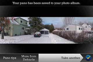 Illustration for article titled Pano iPhone App Takes Panorama Shots For Even Less Money Than Before