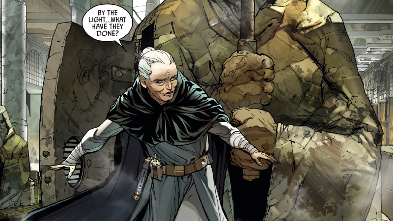 This Weeks Darth Vader Comic Turned Attack Of The Clones Jedi