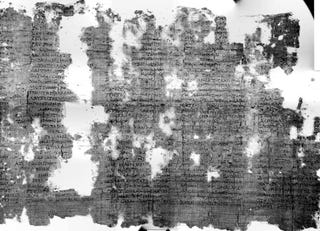 Illustration for article titled Ancient Scrolls From Herculaneum Now Readable, Not Bestsellers