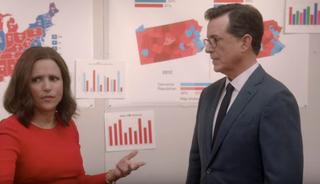 Selina Meyer, Stephen Colbert-Prime