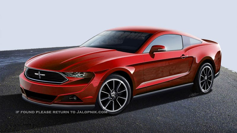 Illustration for article titled The Four-Cylinder Turbo Ford Mustang Will Reportedly Be Only For Europeans
