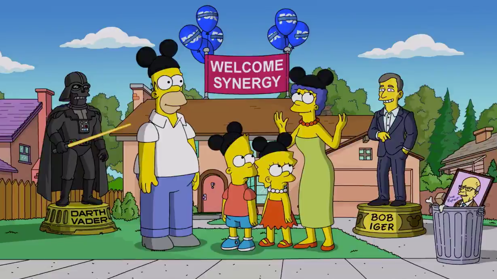 Iconic Disney family The Simpsons heading to the D23 expo this year