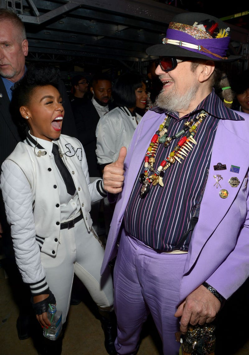 Illustration for article titled Janelle Monae and Dr. John Are the BFFs Hollywood Needs Right Now