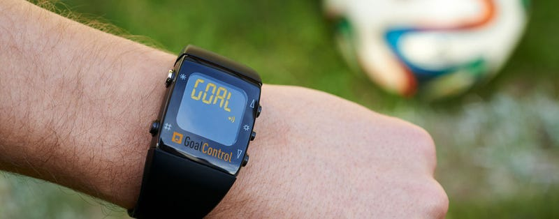 Illustration for article titled World Cup Refs Are Wearing Smartwatches That Alert Them To Goals