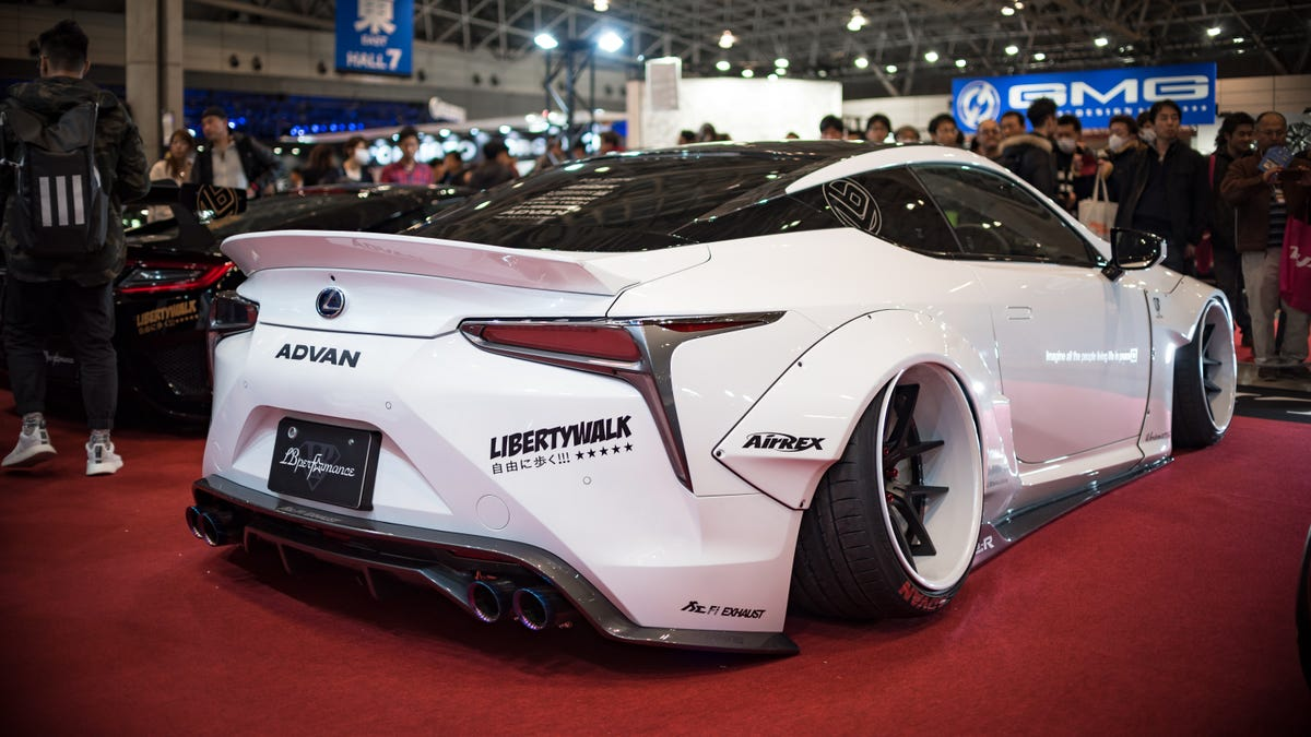 Why Liberty Walk Made The Most Outrageous Lamborghini Miura Ever