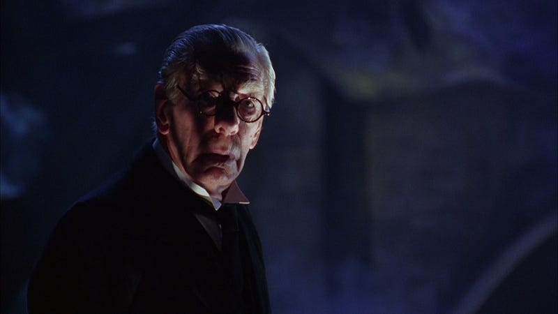 Illustration for article titled R.I.P. Michael Gough, Batman's butler and Doctor Who's recurring villain