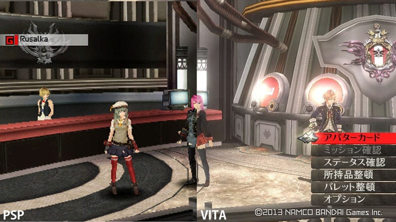 Illustration for article titled God Eater 2 Looks Good on the PSP. It Looks Fantastic on the Vita