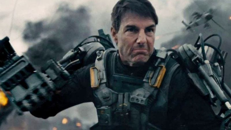 Illustration for article titled Tom Cruise might be reteaming with the director of Edge Of Tomorrow
