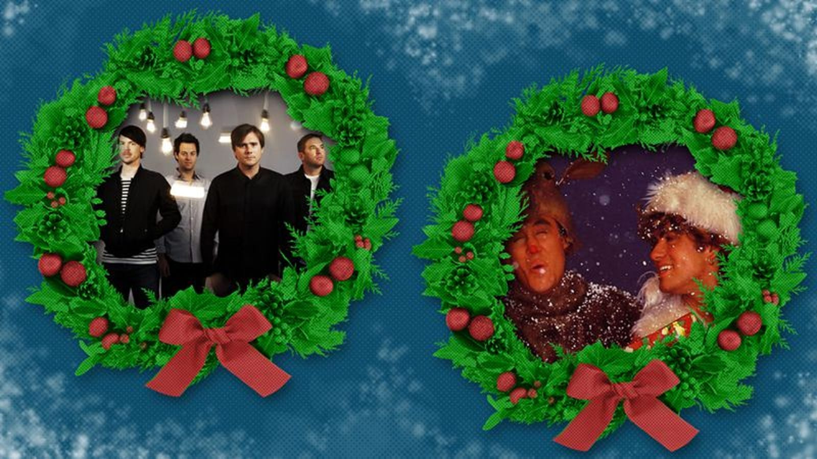 "Wham! and Jimmy Eat World ponder what happened ""Last Christmas"""