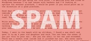Illustration for article titled Forget Encryption, Encode Secret Messages in Fake Spam