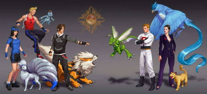 Illustration for article titled Worlds Collide: Pokemon vs Final Fantasy, Dragon Age vs Mass Effect
