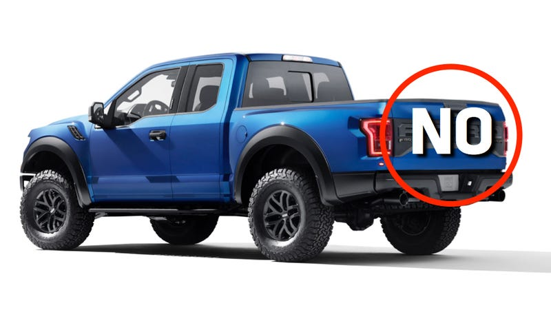 Illustration for article titled The New Ford Raptor Is Great And All But What The Hell Is This?