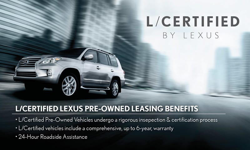 Lexus certified program