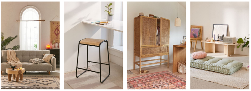 Up to 40% off furniture and home goods | Urban Outfitters