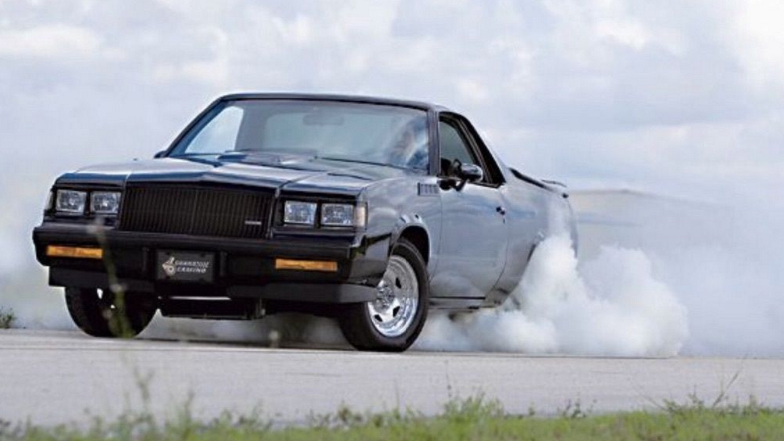 Somebody spent seven years working on blending a 1984 el camino and a 1987 buick grand national and now it s for sale on ebay for a buy it now price of