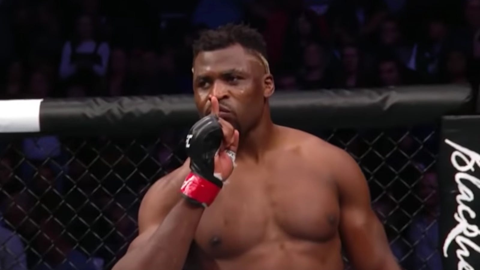 Either Cain Velasquez Suffered A Freak Injury At The Worst Time Or Francis Ngannou Hits Like A Meteor