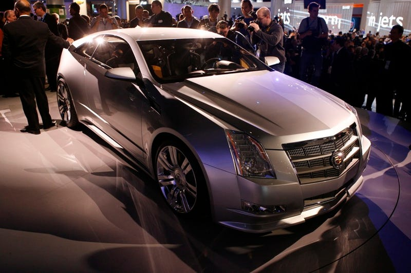 Illustration for article titled GM To Delay Cadillac CTS Coupe