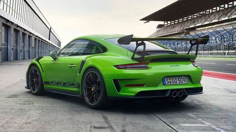 the 2018 porsche 911 gt3 rs now gets 520 hp from its. Black Bedroom Furniture Sets. Home Design Ideas