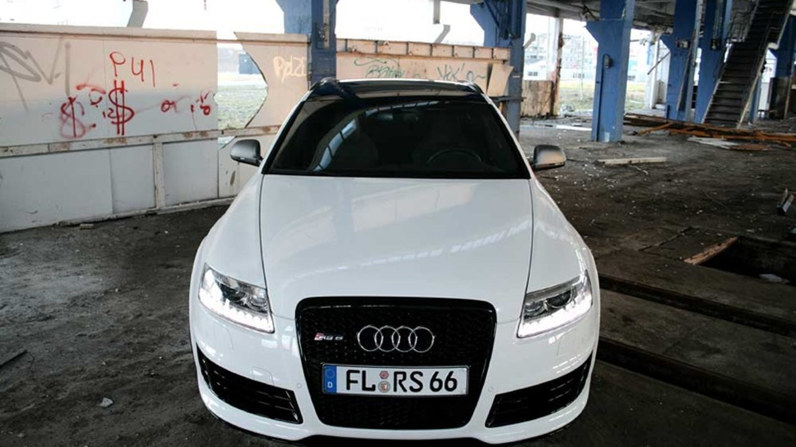 german tuning shop names custom audi rs6 white power. Black Bedroom Furniture Sets. Home Design Ideas