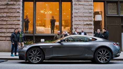 guess how much an aston martin db costs in india