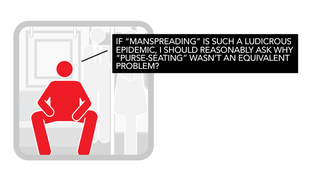 Illustration for article titled Manspreaders Are Sick of the MTA Telling Them Not To Manspread