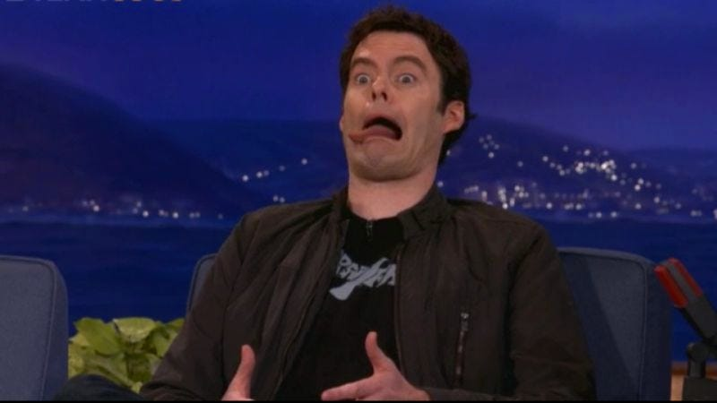 Illustration for article titled Bill Hader has mastered some oddly specific Star Wars impressions