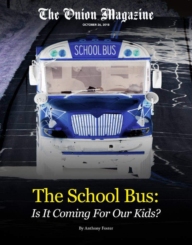 Illustration for article titled The School Bus: Is It Coming For Our Kids?