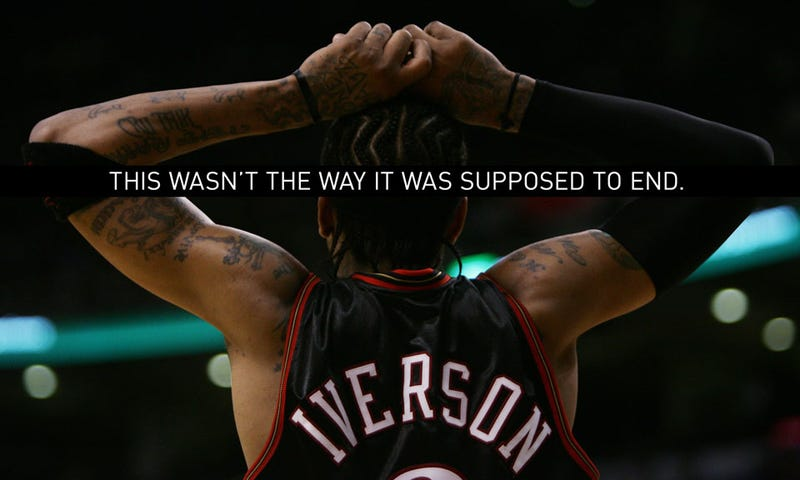 Illustration for article titled Allen Iverson Has Destroyed The Legacy Of Allen Iverson