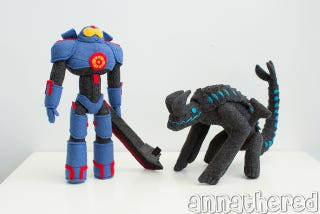 Illustration for article titled Pacific Rim Plushies