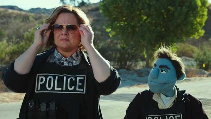 Puppet crime better watch out with Melissa McCarthy on the job in The Happytime Murders.