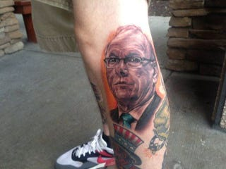 Illustration for article titled No One Likes Jim Boeheim As Much As This Guy With A Jim Boeheim Tattoo