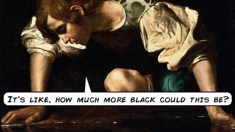 Illustration for article titled Pop Quotery combines fine art with equally fine movie quotations