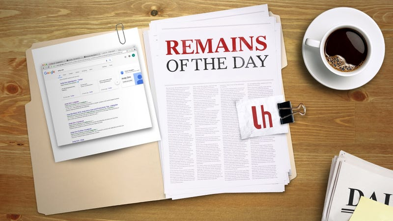 Illustration for article titled Remains of the Day: Google Tweaks Algorithm to Downplay 'Non-Authoritative Information'