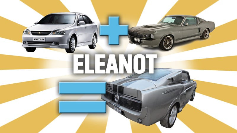 Illustration for article titled This Shop Turned A Crappy Econobox Into An 'Eleanor' Mustang