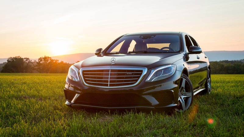 The 2015 Mercedes-Benz S63 AMG. Photos credit Michael Roselli/Jalopnik