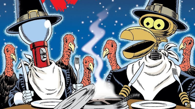 Illustration for article titled Save room for another MST3K Turkey Day Marathon this year!