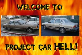 Illustration for article titled PCH, Rear-Drive Japanese Sedan Hoonage Edition: Cressida or Maxima?
